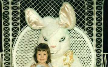 These Vintage Scary Easter Bunny Pictures Will Scare Your Kids Sh*tless