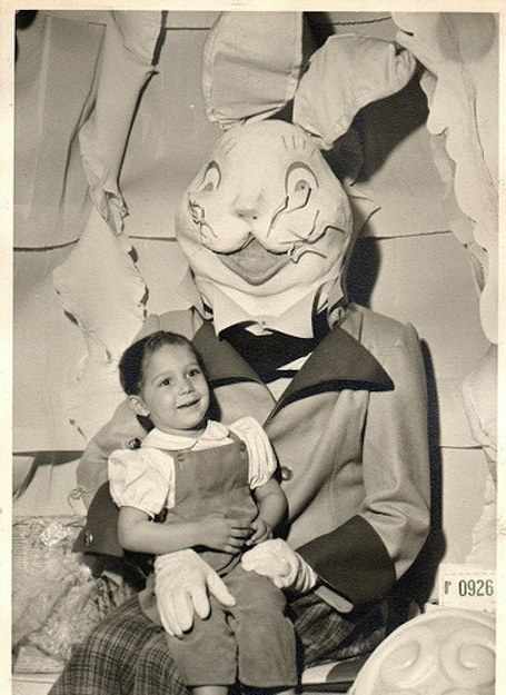 These Vintage Scary Easter Bunny Pictures Will Scare Your Kids Sh
