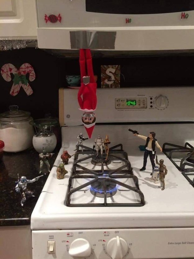 Awesome Elf On the Shelf 5