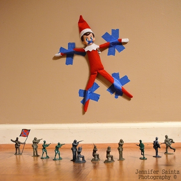 Apparently Elf has pissed off the Calvary.