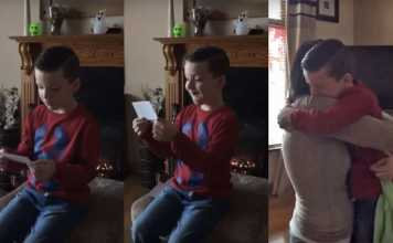 Boy Finds Out He's Going to Be a Big Brother And His Reaction Is Priceless