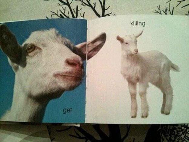 get killing goat