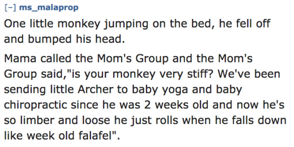 An Amazing '10 Little Monkeys' Parody Written By Random Moms 10