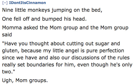 An Amazing '10 Little Monkeys' Parody Written By Random Moms 2