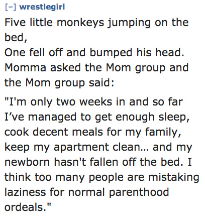An Amazing '10 Little Monkeys' Parody Written By Random Moms 6
