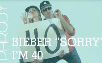 "Hilarious Bieber ""Sorry"" Parody Gets Real About Life After 40"