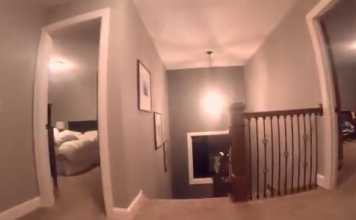 GoPro Captures Toddler's POV Playing Hide And Seek
