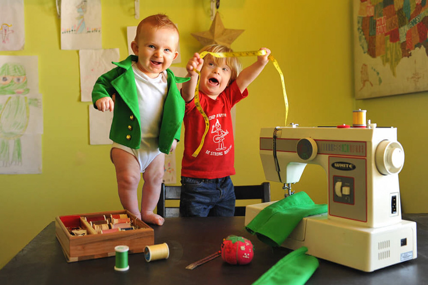 Dad Turns His 6-Month-Old Baby Into A Naughty Leprechaun 4