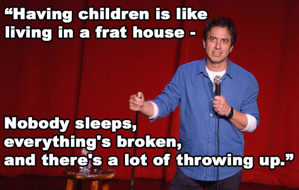 Famous Comedians And Their Funny Take on Parenting 1
