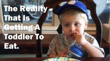 Video Perfectly Sums Up What It's Like Trying To Get A Toddler To Eat