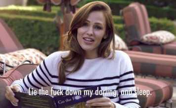 Jennifer Garner Reads Go the F**k to Sleep