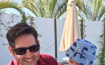 A Dad's Hilarious Take On Vacationing With A Baby