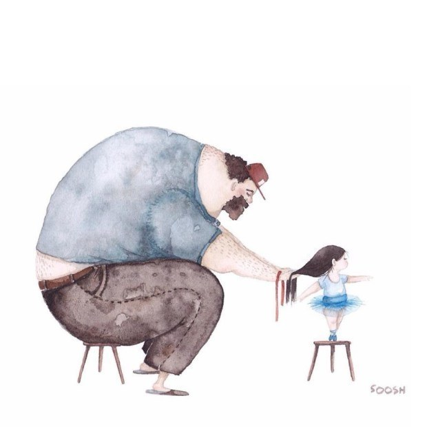 These Beautiful Illustrations Show the Unique Bond Between Fathers and Daughters 10
