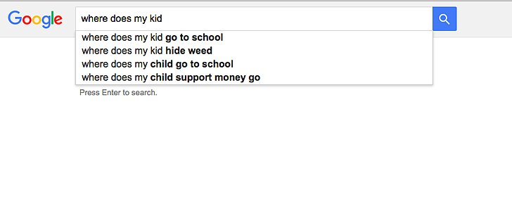What Hilarious Topics Parents Search For The Most On Google 10