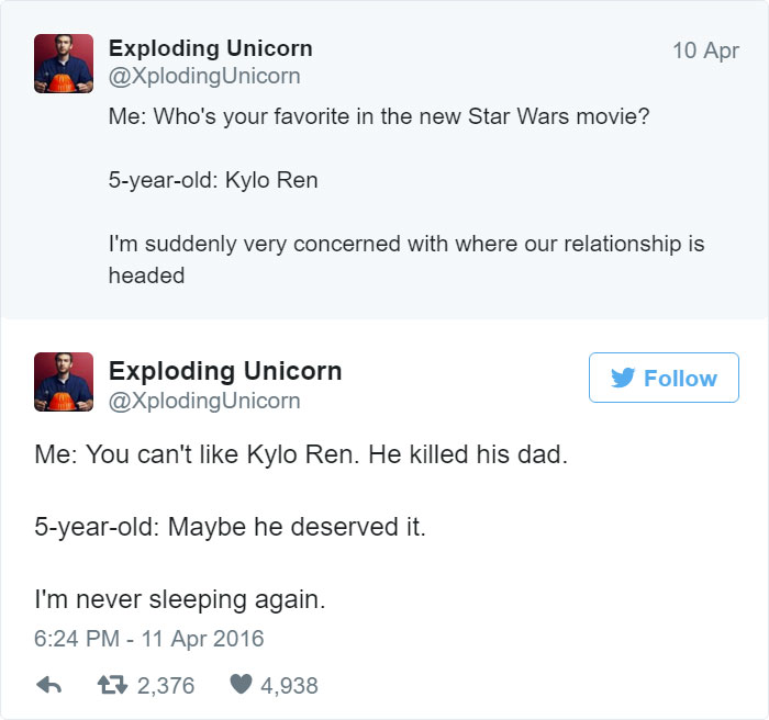 Dad Of 4 Girls Tweets Conversations With His Daughters, Proves Parenting Is Fun 6