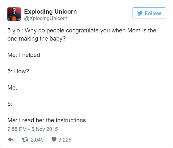 Dad Of 4 Girls Tweets Conversations With His Daughters, Proves Parenting Is Fun 7
