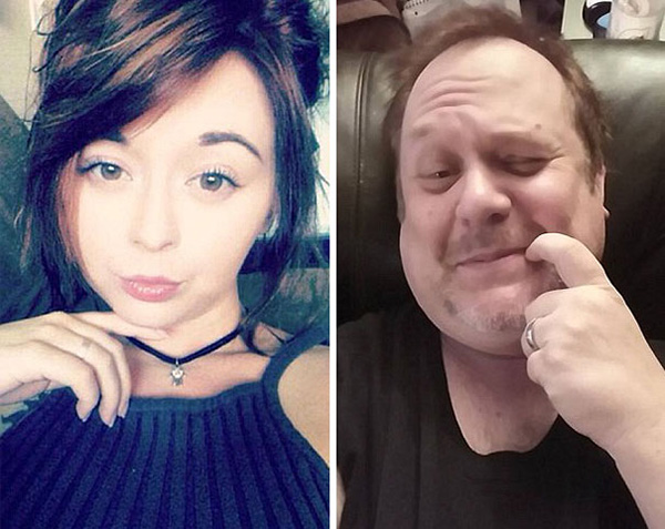 Dad Trolling His Daughter By Hilariously Recreating His Daughter's Selfies 6