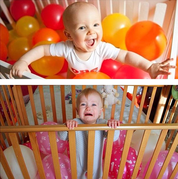 Hilarious Pinterest Baby Photoshoot Fails 15