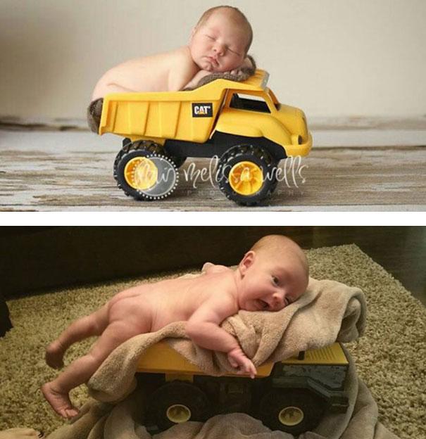 Hilarious Pinterest Baby Photoshoot Fails 3