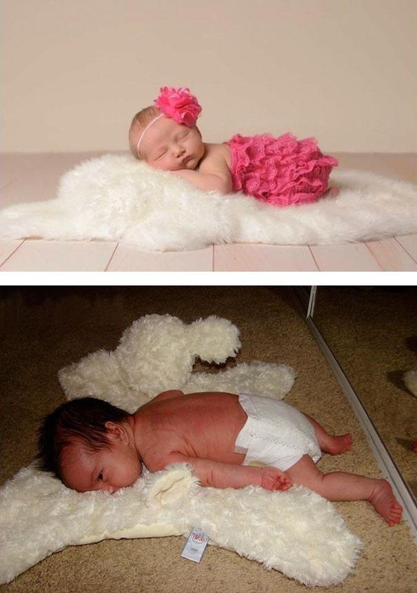 Hilarious Pinterest Baby Photoshoot Fails 5