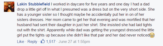 dad fails at dressing baby comments 3
