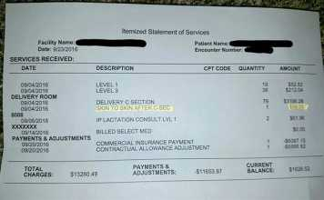 Mom Charged $39.35 Fee To Hold Her Baby After Giving Birth