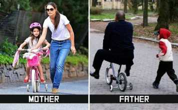 The Hilarious Differences Between Moms And Dads Parenting Styles