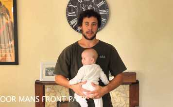 A Dad's Hilarious Tutorial On How To Hold A Baby